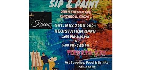 Kueenz Sip &  Paint tickets