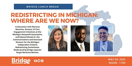 Bridge Lunch Break: Redistricting in Michigan: Where are we now? tickets