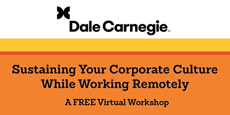 Sustaining Your Corporate Culture While Working Remote Tickets