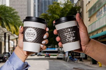 Complimentary coffee to celebrate NEW BRICKELL location Crema Gourmet! entradas