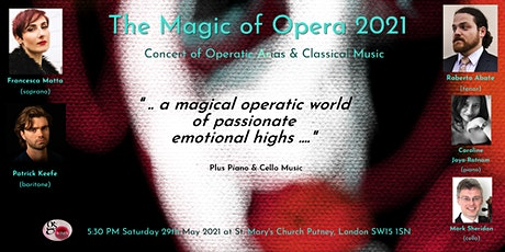 The Magic of Opera 2021 tickets