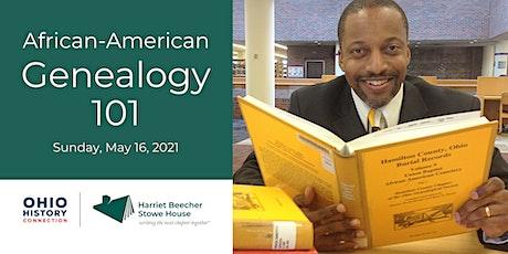 African-American Genealogy 101 tickets