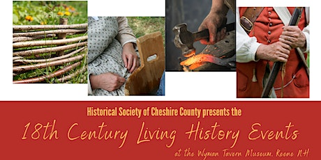 18th Century Living History Events - Metalsmithing tickets