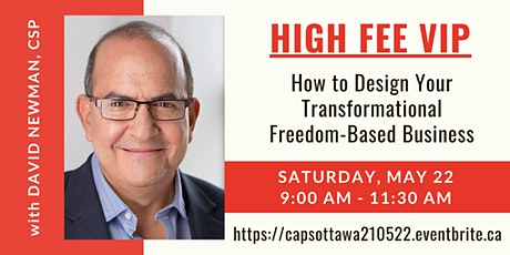 HIGH FEE VIP: How to Design Your Transformational Freedom-Based Business tickets