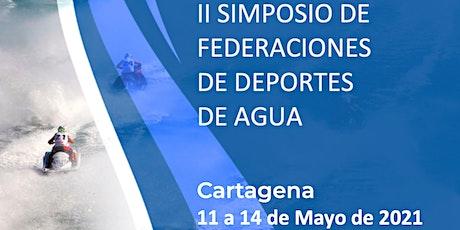 II Simposio Federaciones Deportes de Agua entradas