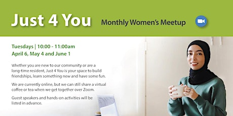 Just 4 You - Monthly Women's Meetup tickets