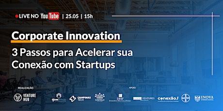 Corporate Innovation: 3 Passos Para Acelerar Sua Conexão Com Startups tickets