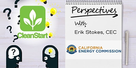 CleanStart Perspectives on EPIC Funding from the CA Energy Commission tickets