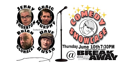 Comedy Showcase at Breakaway with Brian Glowacki and Friends tickets