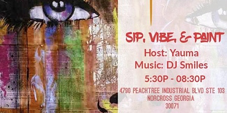 Sip, Vibe, & Paint tickets