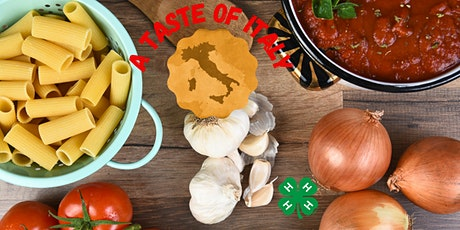 A Taste of Italy-Cooking 201 tickets