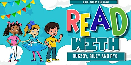 Summer Reading with Rugzby, Riley and Ryo tickets