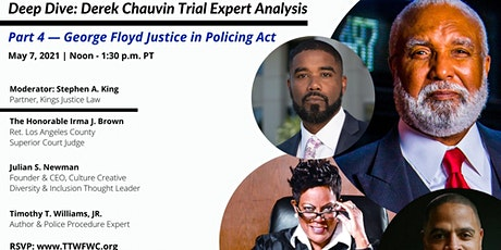 Deep Dive: Derek Chauvin Trial Expert Analysis - Part 4 tickets