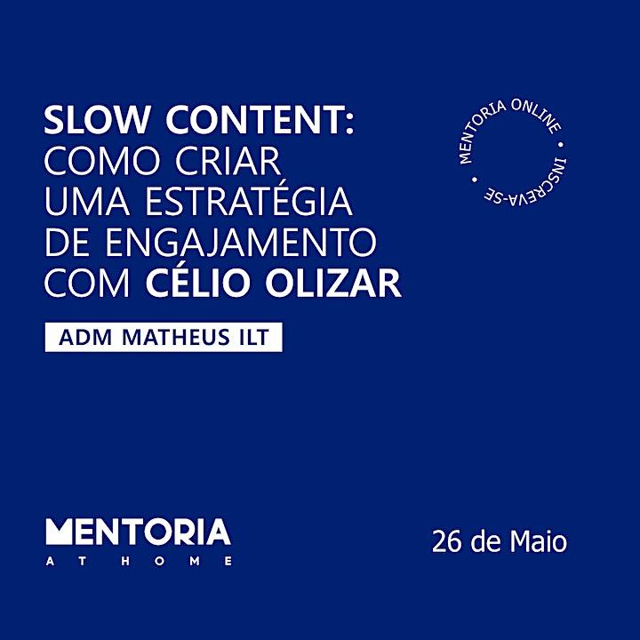 Imagem do evento Mentoria At Home com Célio Olizar