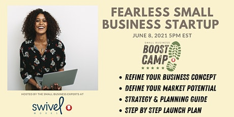 Small Business Boost Camp - Fearless Small Business Startup tickets