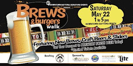 Brews & Burgers Walk tickets