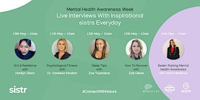 sistr supports Mental Health Awareness Week