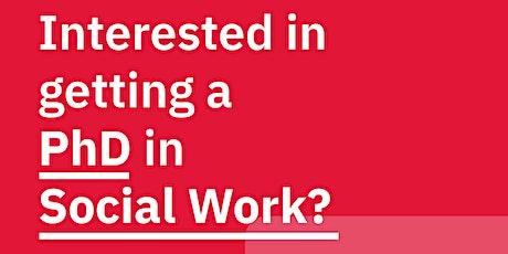 York University - School of Social Work PhD Info Session tickets