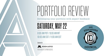 AAGD Portfolio Review tickets