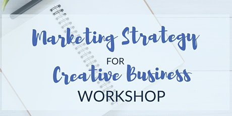 Marketing Strategy for Creative Business tickets