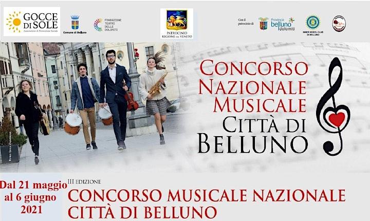 Immagine CONCERTO DI INAUGURAZIONE CONCORSO MUSICALE CITTA' DI BELLUNO