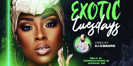 Exotic Tuesday @Cafe214 tickets