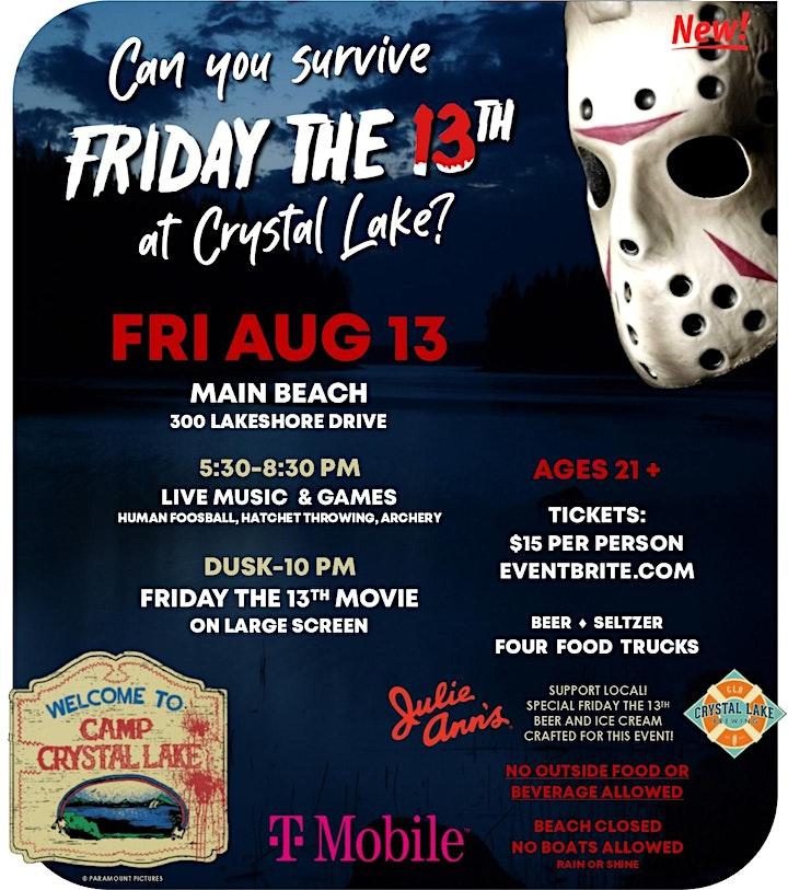 Friday the 13th at Crystal Lake image