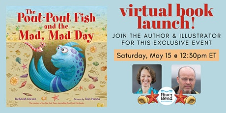 Virtual Book Launch: The Pout-Pout Fish and the Mad, Mad Day tickets