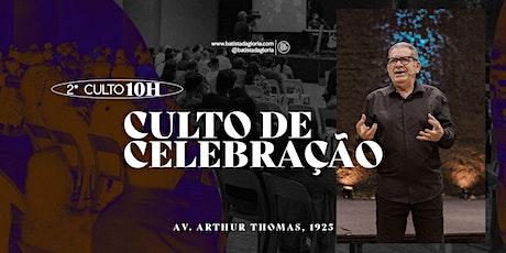 2a. CELEBRAÇÃO MANHÃ - 09/05 ingressos