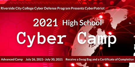 2021 RCC Cyber Security Advanced CyberCamp tickets