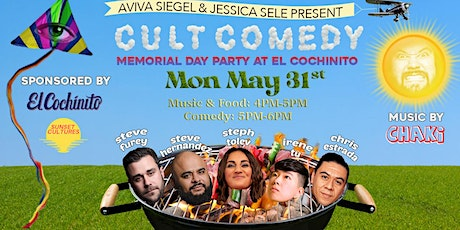 Cult Comedy Memorial Day Comedy Show tickets
