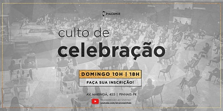 Culto de Celebração 18 horas - Domingo 09/05/21 tickets