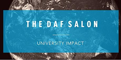 DAF Salon with University Impact tickets