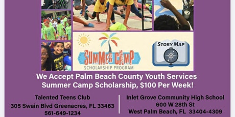 Talented Teen Club Summer Camp tickets