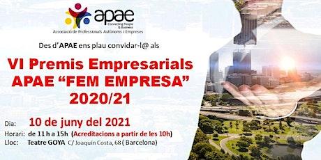 VI Congrés APAE Fem Empresa 2020/21 entradas
