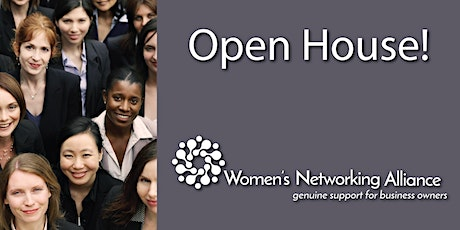 Women's Networking Alliance Open House - July 2021 biglietti