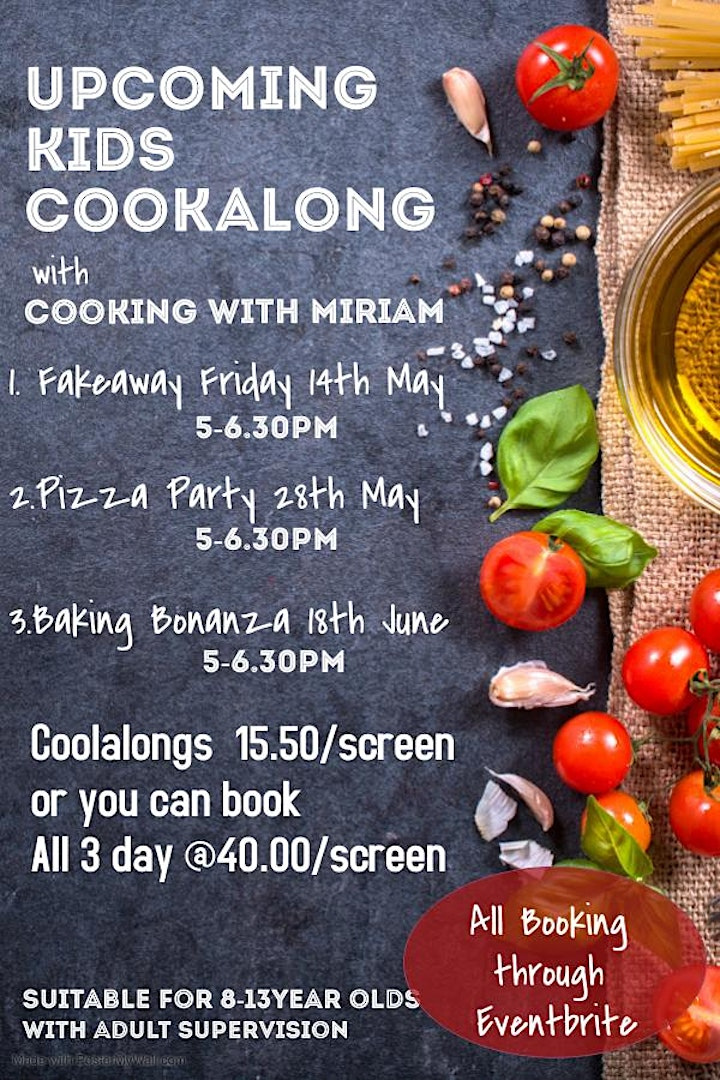 All  3 day  Cookalong Package image