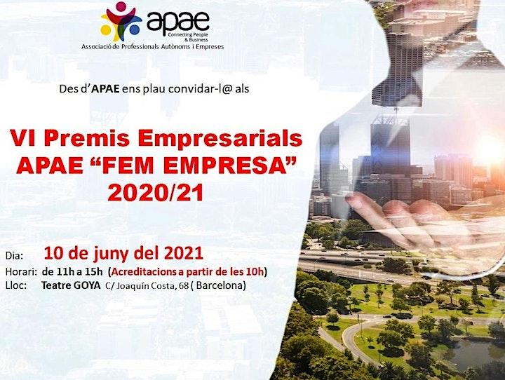 Imagen de VI Congrés APAE Fem Empresa 2020/21