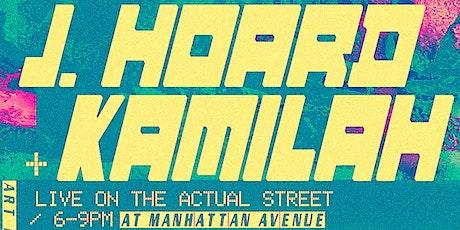 Railroad Hart Showcase: J. Hoard and Kamilah tickets