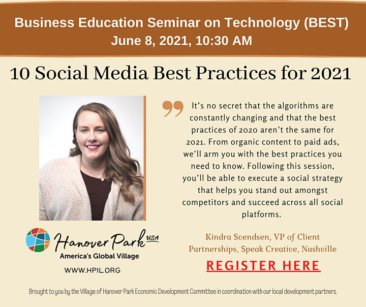 June 8, 2021 --  10 Social Media Best Practices for 2021 image