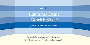 Junior Elevator Pitch BW, 7.7.2015 in Stuttgart