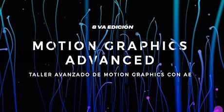 Motion Graphics Advanced 8 biglietti