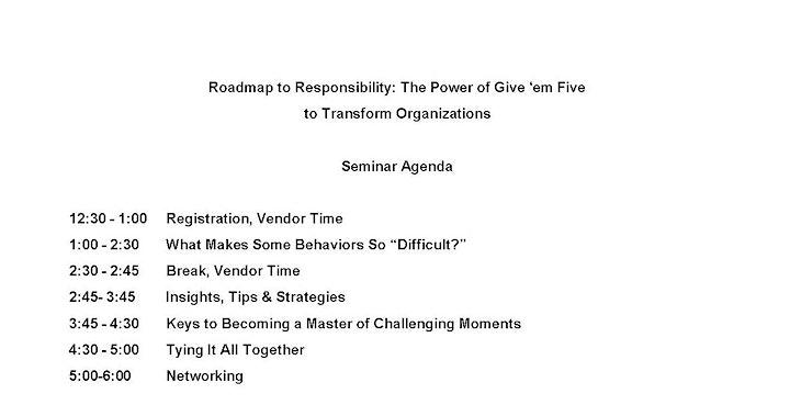 Together Toward Tomorrow- Leadership Workshop image