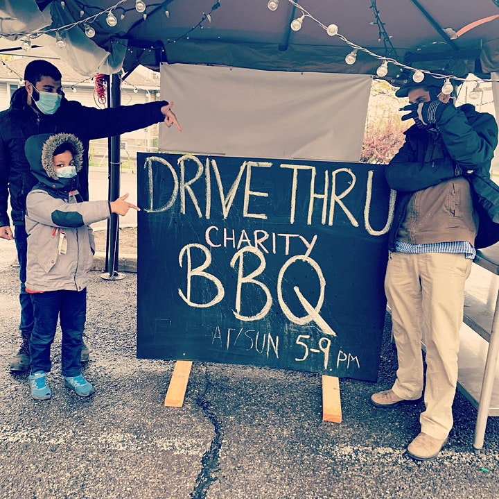 DRIVE THRU BBQ by Blossoming Hearts Foundation image