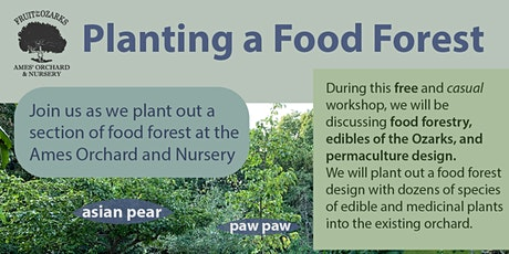 Ames Orchard Food Forest Planting tickets