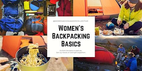 Women's Backpack Basics - FLOE LAKE tickets
