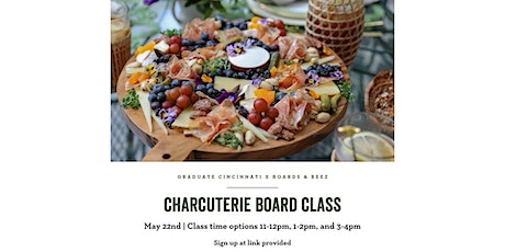 Charcuterie Board Class w/ Boards & Beez tickets