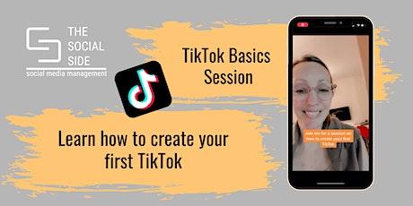 TikTok Basics: Create Your First TikTok tickets