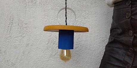 Taller de diseño y creación de lamparas entradas
