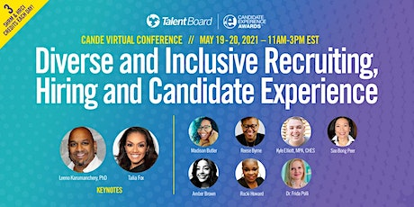 Diverse & Inclusive Recruiting, Hiring & Candidate Experience Conference tickets